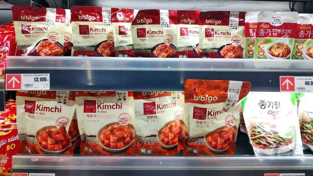 korean packaged food