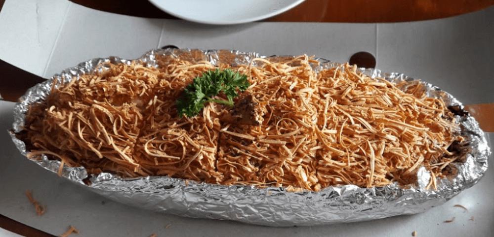 makaroni panggang bogor - snack khas bogor