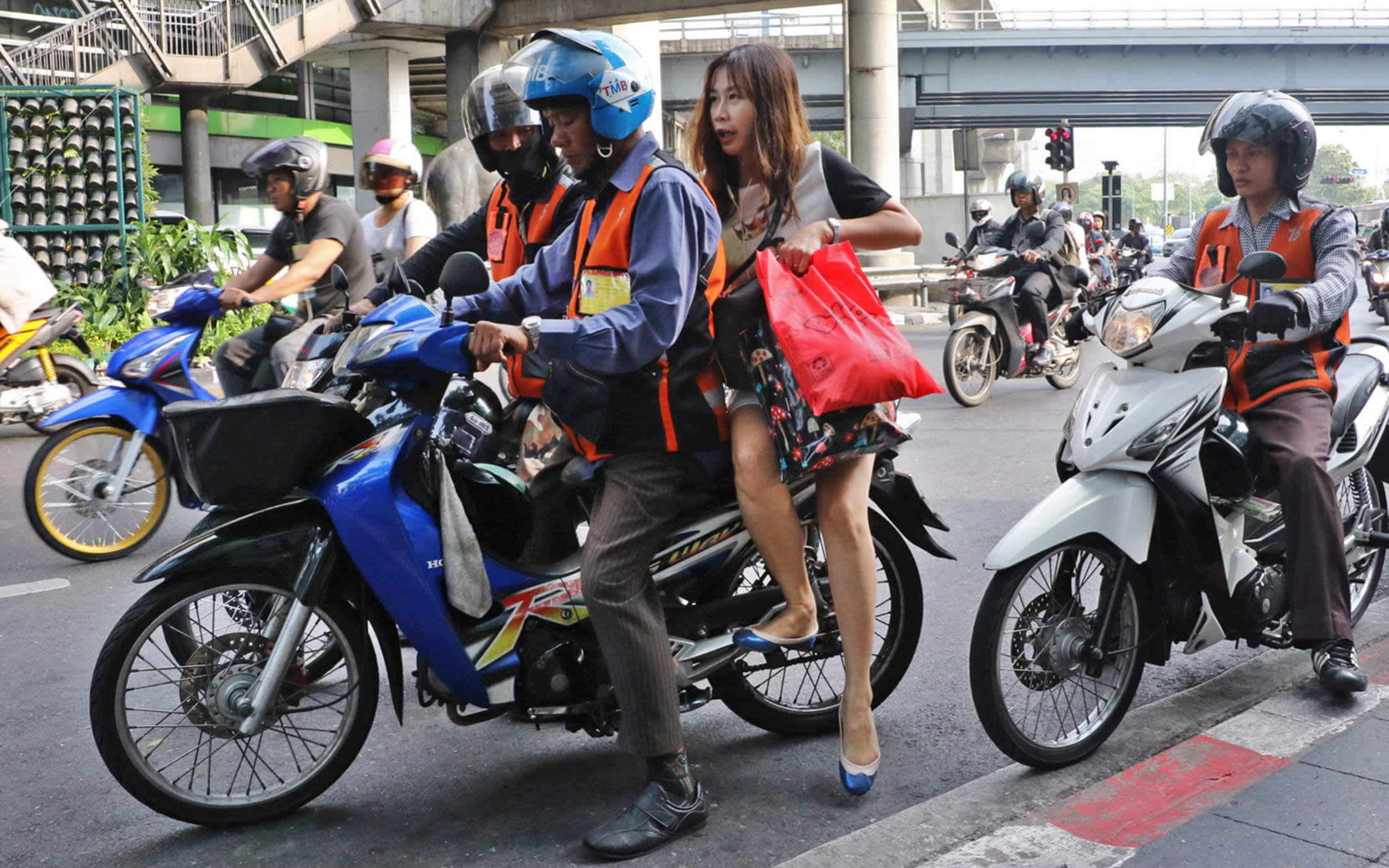 motorbikes - common transportation for individuals