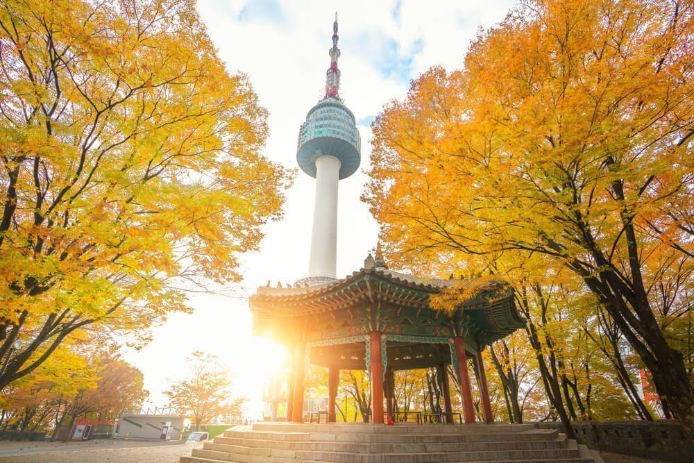 namsan seoul tower korea