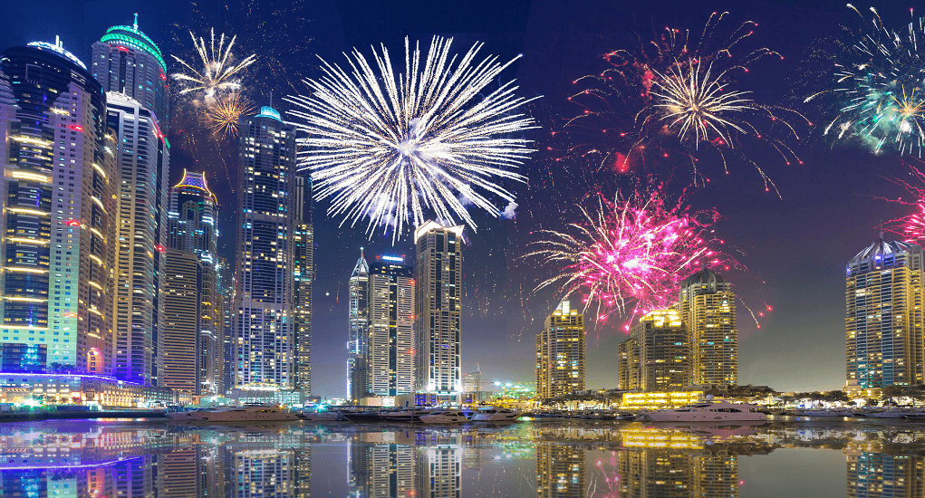 Celebrate New Year - dubai