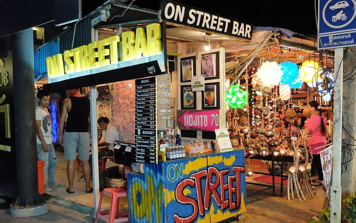 on street bar - great bar on chaweng street