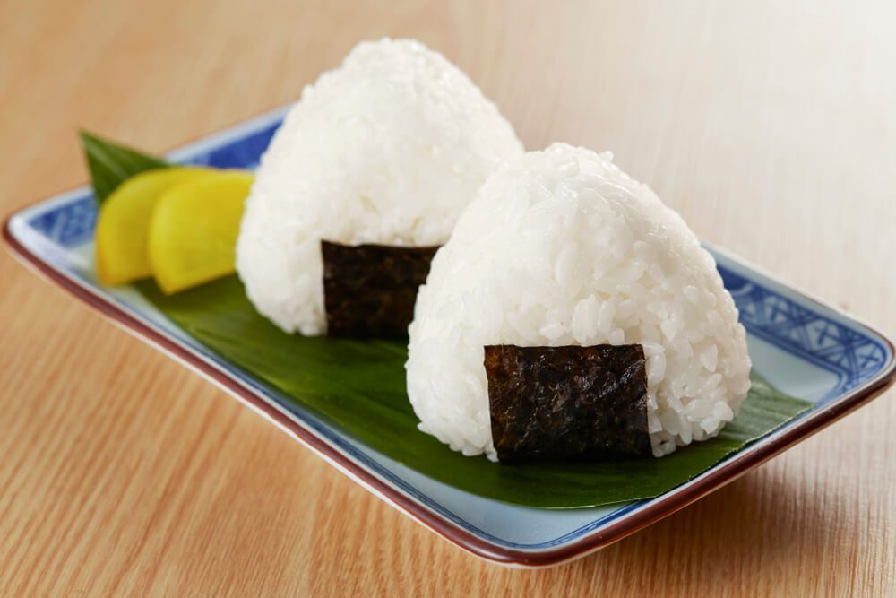 simple and delicious - onigiri