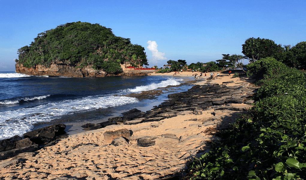 Pesona Wisata Pantai Goa Cina Malang Airpaz Blog