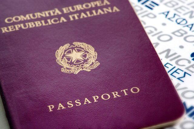 paspor itali