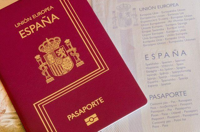 paspor spanyol