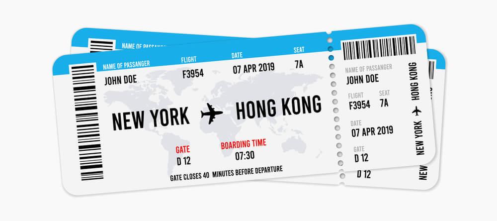 perhatikan penulisan nama di tiket pesawat