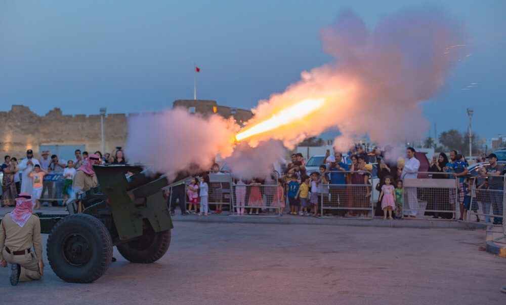 Cannons Fire in Iftar (เลบานอน)