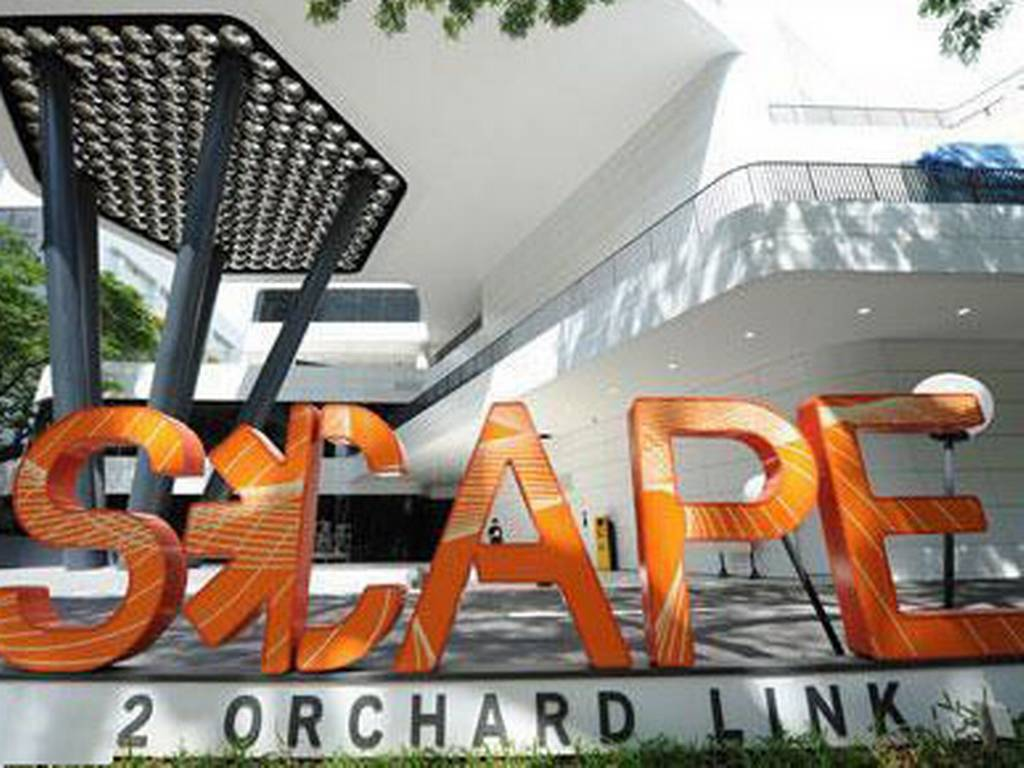 scape orchard road singapore