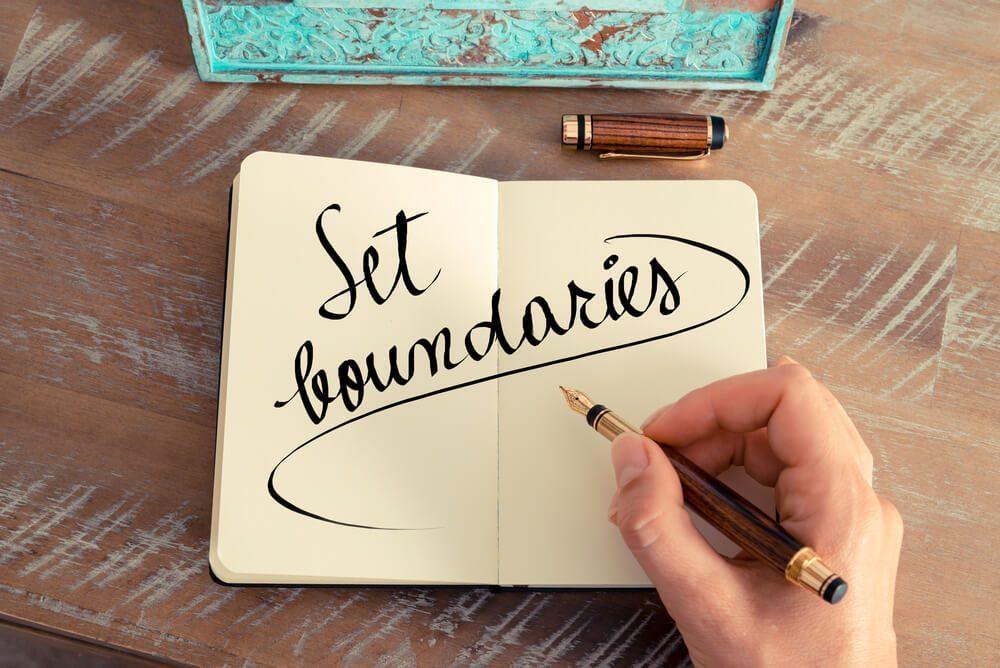set work boundary