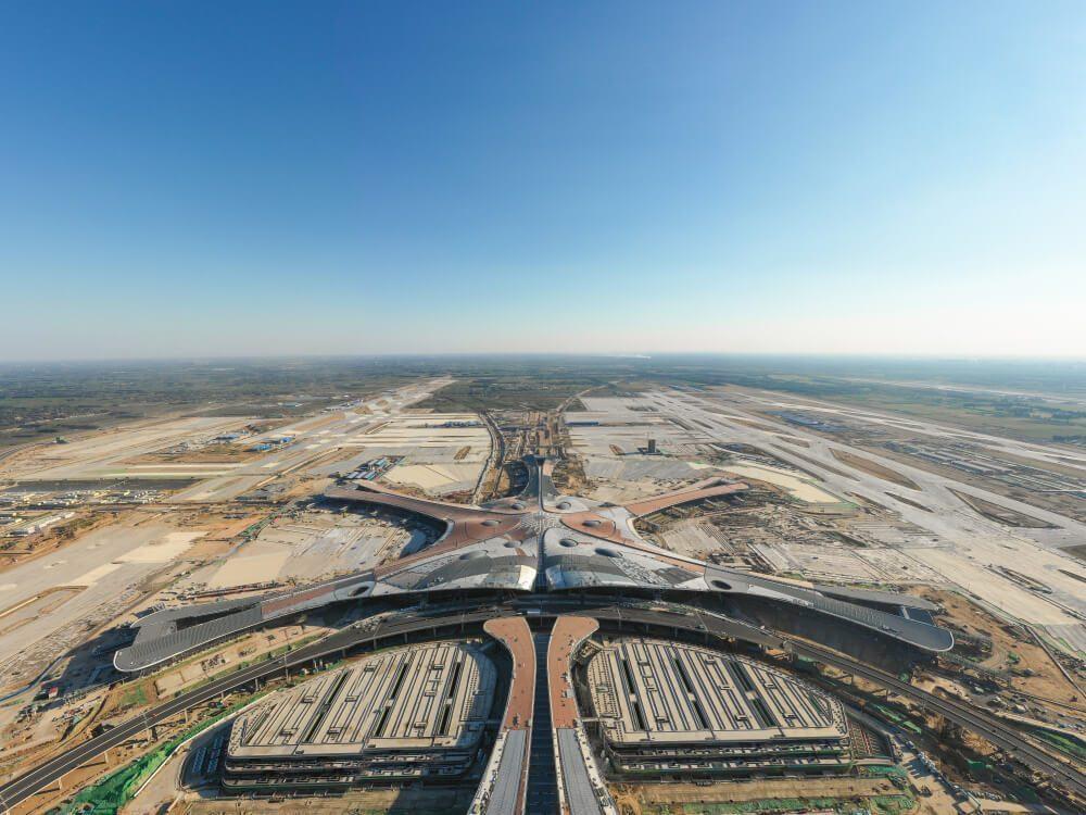 Ukuran Bandara Daxing