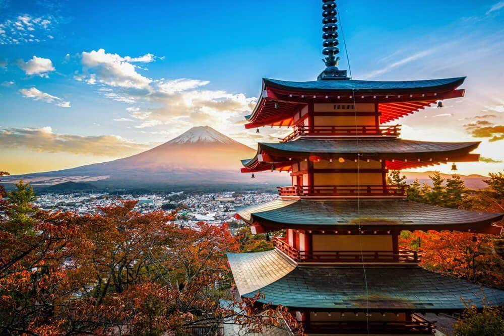 富士山の美し景色
