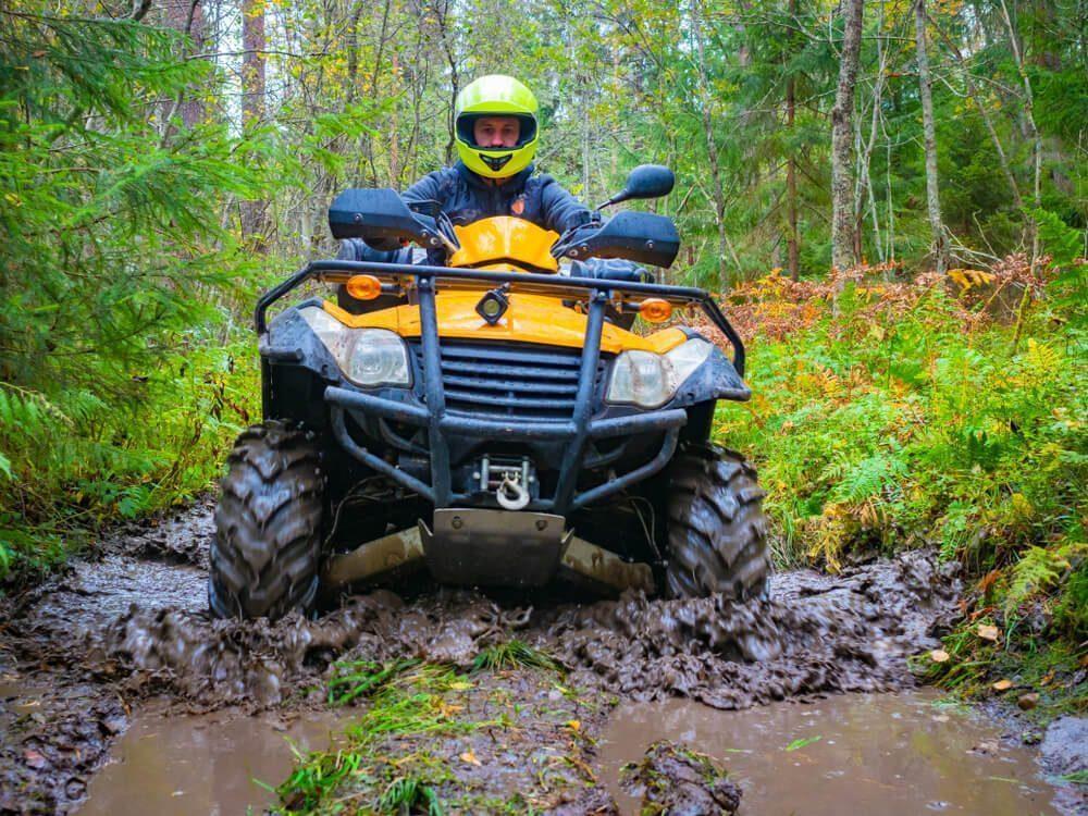 ขับรถ ATV ไปในอูบุด