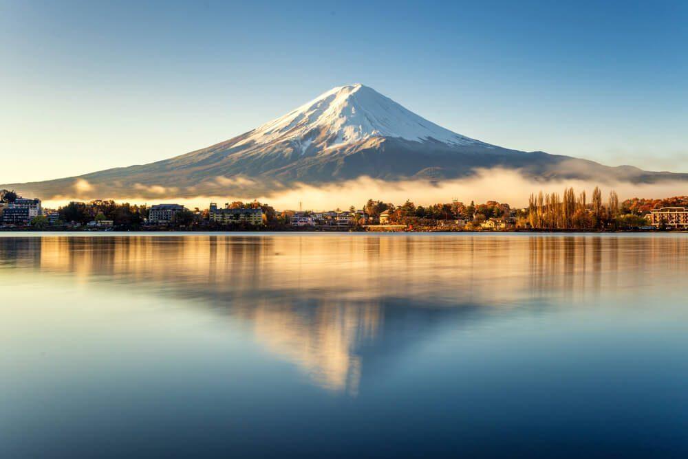 富士山のユニックな所