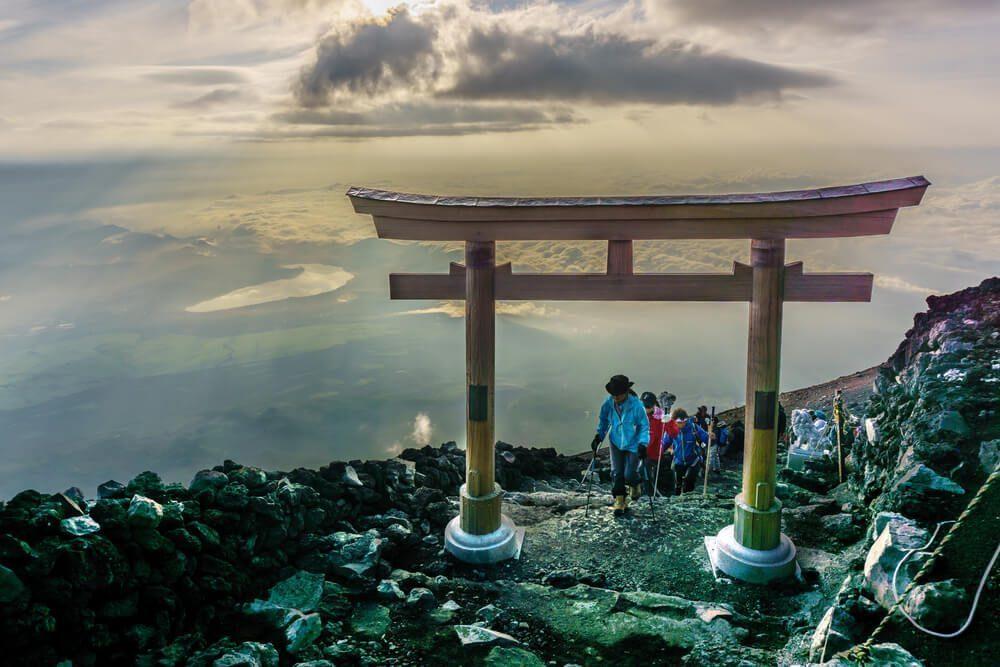 富士山の登山ルート