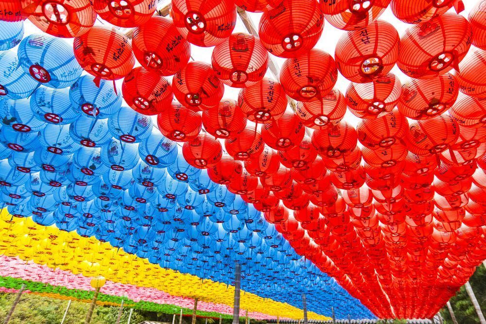 chinese new year in south korea