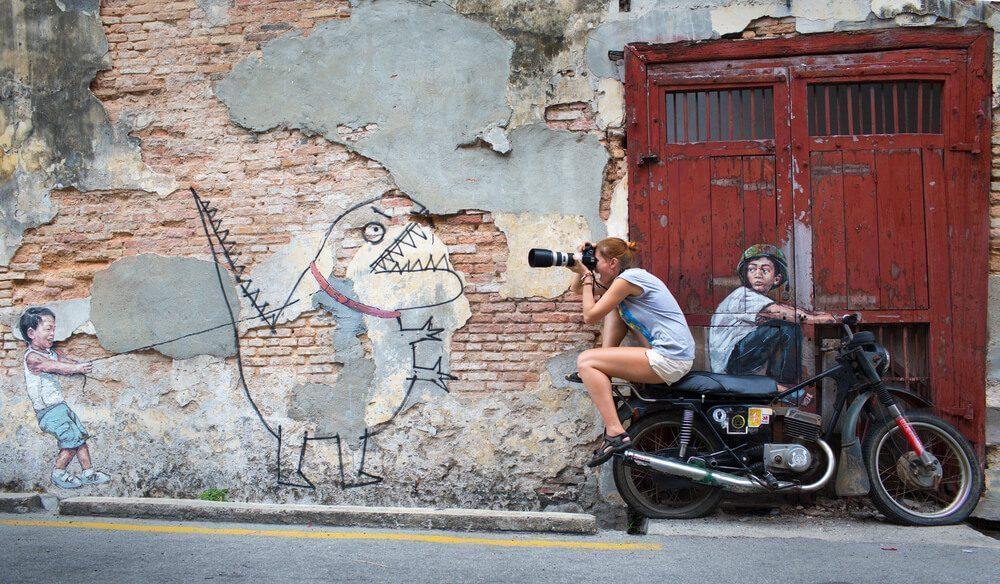 street art yang unik dan menawan