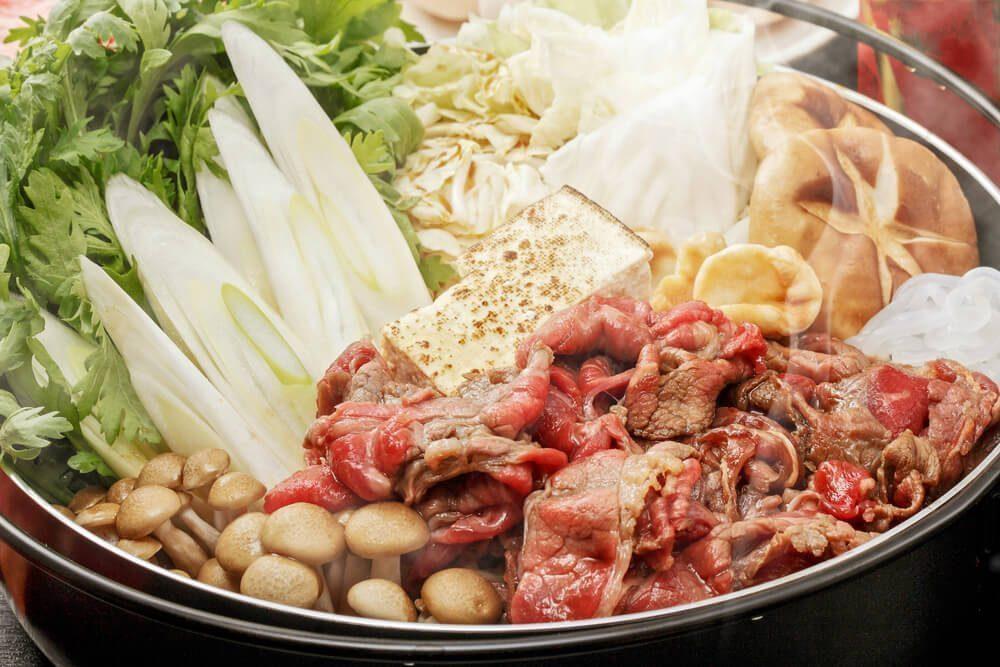 specialty from the east - sukiyaki