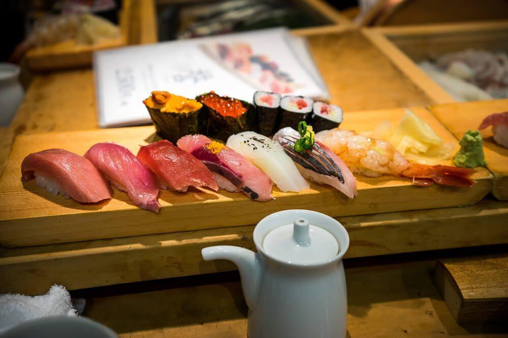 signature food of japan - sushi
