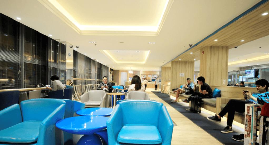 suvarnabhumi airport - Lounge Relaxation