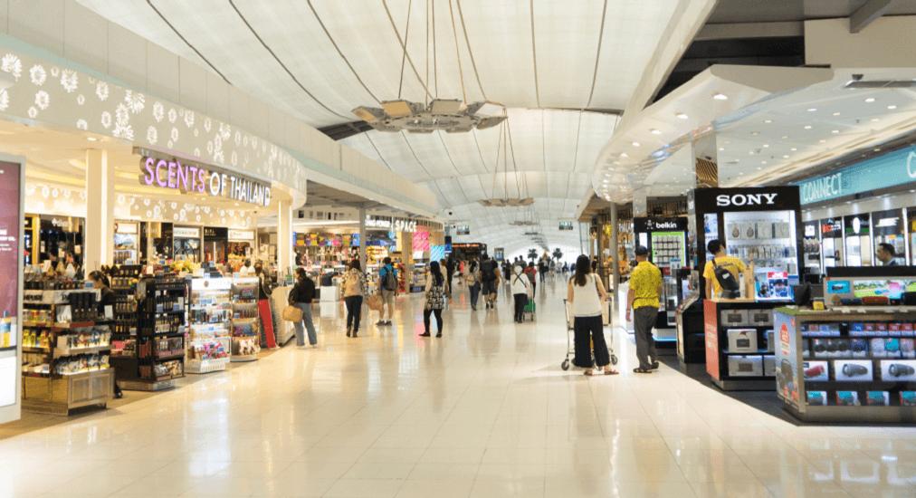 suvarnabhumi airport - Shopping Time