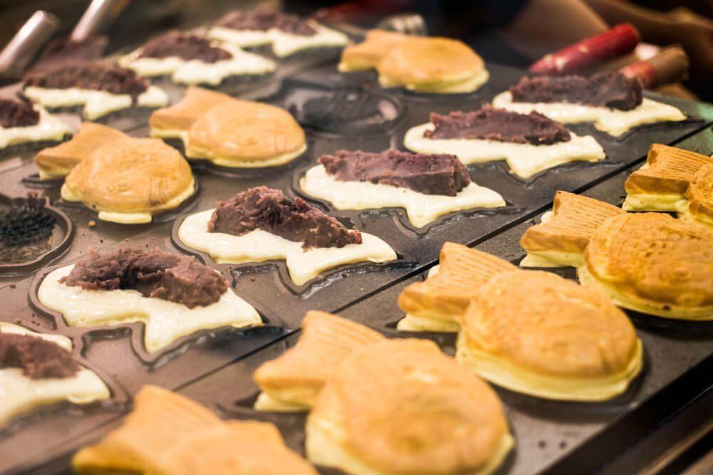 japanese unique snack - taiyaki
