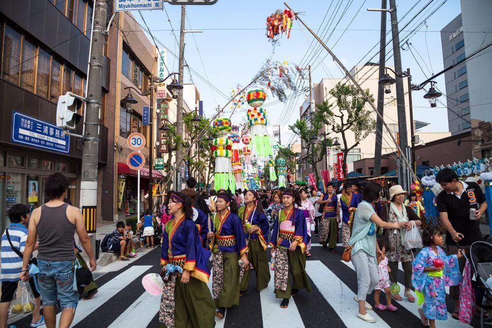 famous tanabata festival