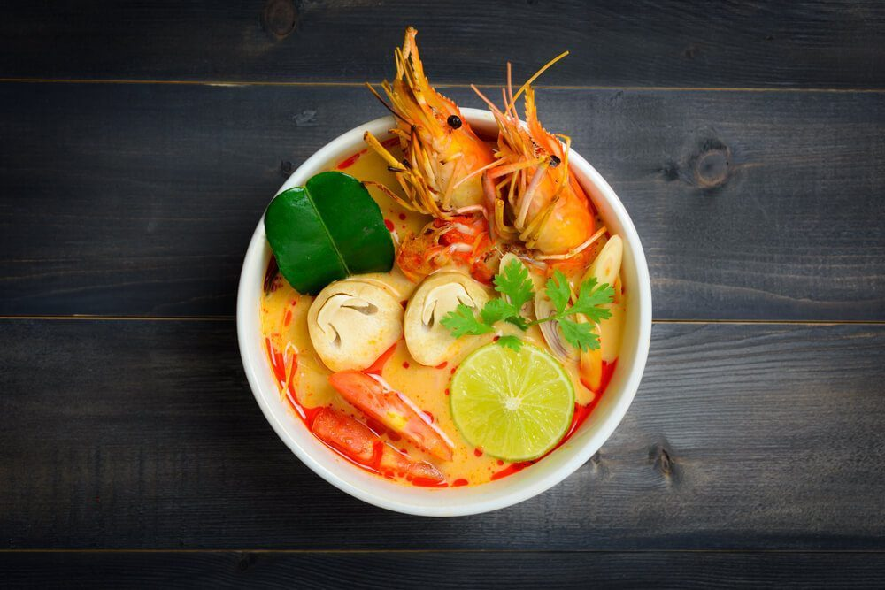 tom yum - most famous Thail culinary