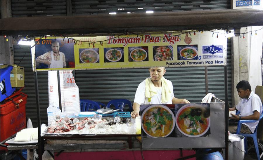 tomyam paa nga halal street food
