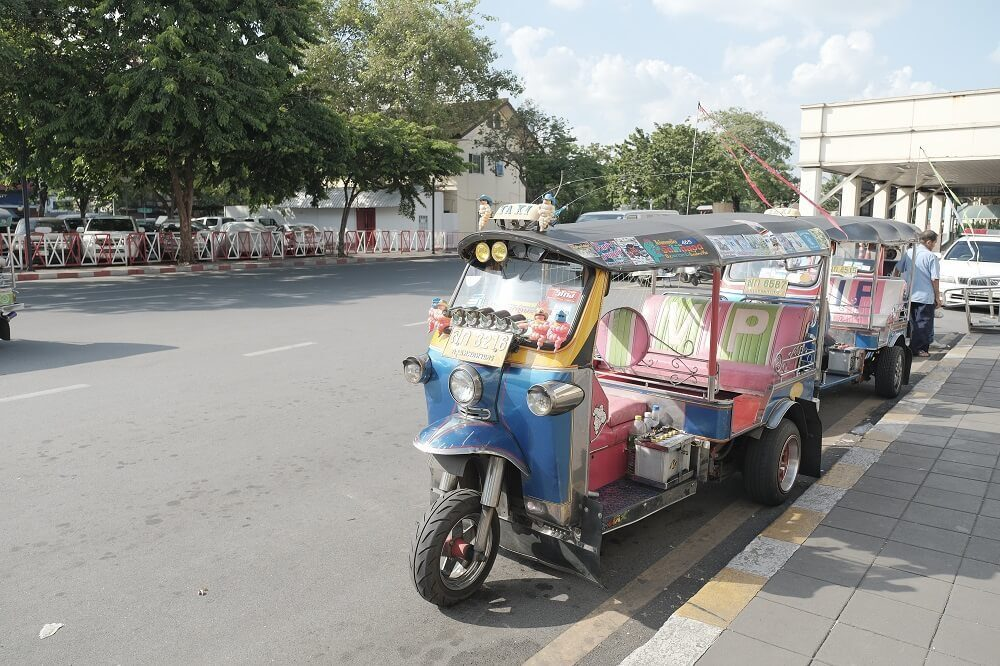various modes of transportations in koh samui
