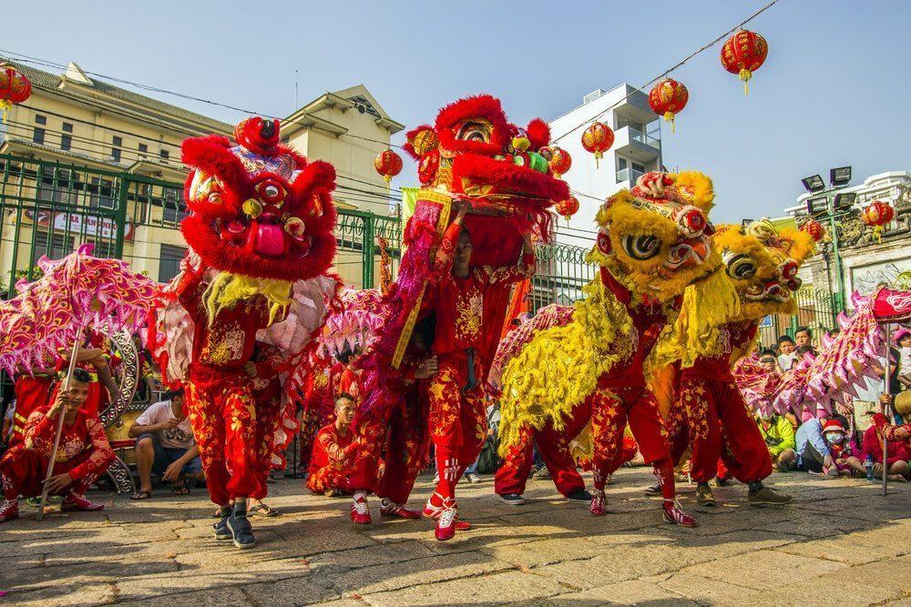 chinese new year in vietnam