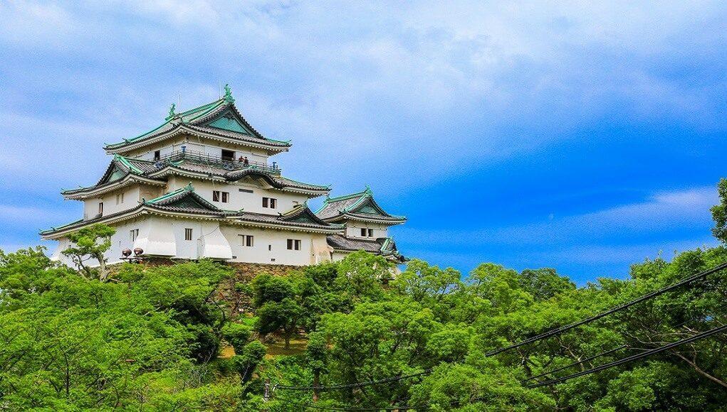 wakayaman-castle-in-japan