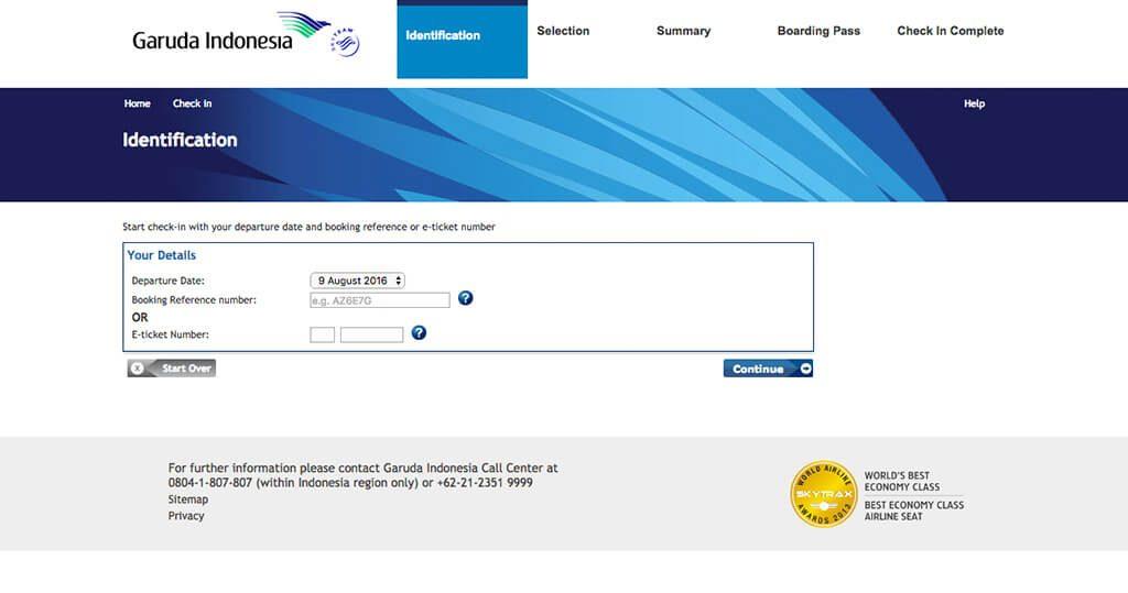 Masukkan Nomor Booking Reference (Kode Booking)