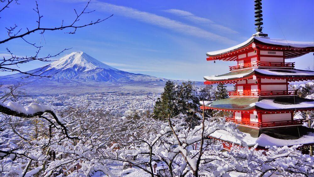 japanese winter season